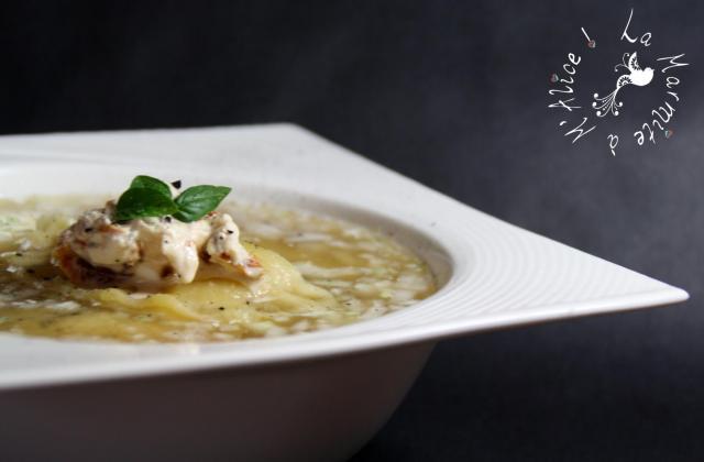 Ravioles au Poulet, tomates séchées et mascarpone - Photo par sorcilili