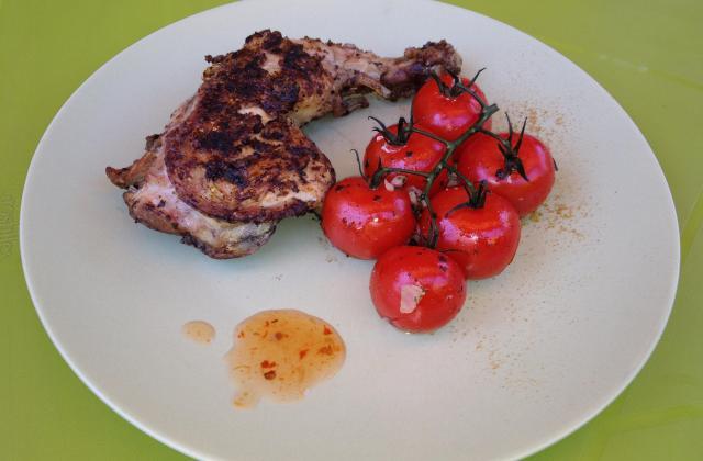 Cuisses de poulet grillées/barbecue - Photo par martin70
