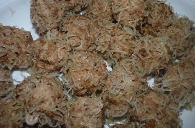 Boulettes de porc à la citronnelle - Photo par somphet13
