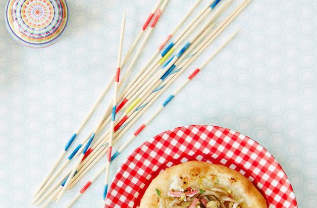 Pizza endives, jambon, ricotta - Photo par Perle du Nord