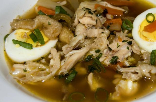 Soupe d'entrailles de poisson - Photo par malikele