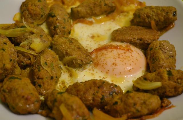 Kefta aux œufs - Photo par Cuisine Hniouna Hanane