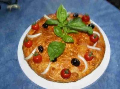 Pizza à la calabraise - Photo par findv