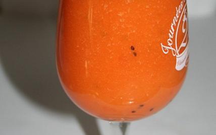 Smoothie de carotte et d'orange - Photo par stephaxZR