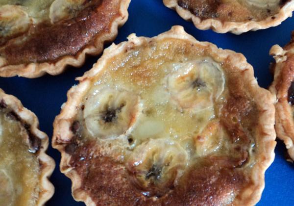 Tartelettes Nutella bananes - Photo par daude76
