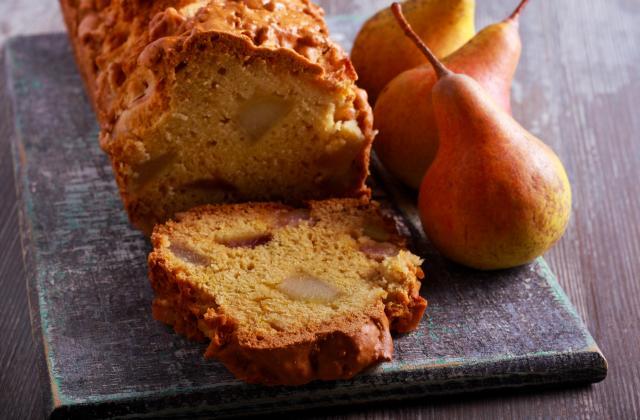 Pear bread ou cake aux poires - Photo par 750g