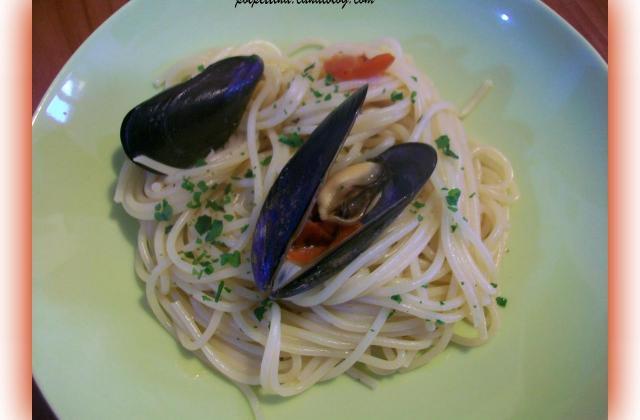 Spaghetti aux moules - Photo par L'Italie dans ma cuisine