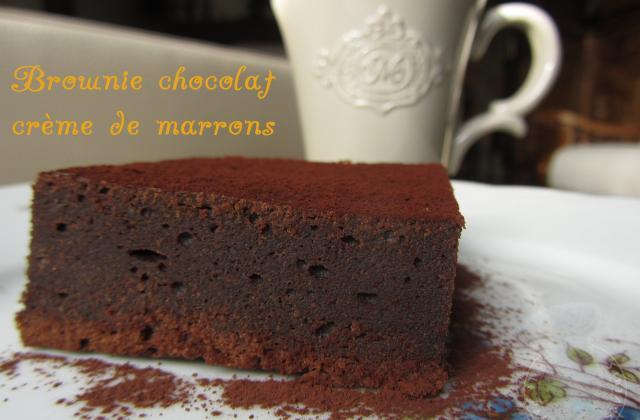 Brownie chocolat marron - Photo par vgonza