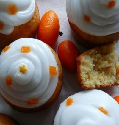 Muffins kumquats rhum - Photo par lucilen9