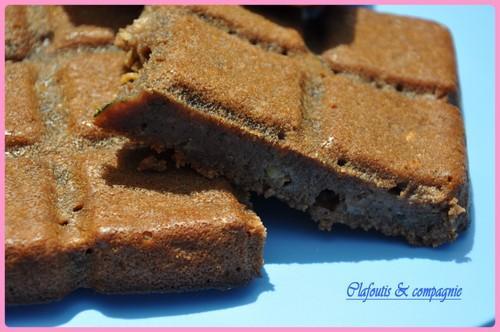 Gâteau au chocolat et courgettes - Photo par isabelWmf