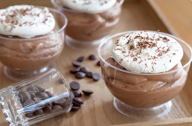 Mousse au chocolat rapide et délicieuse ! - Photo par linstantgourmand