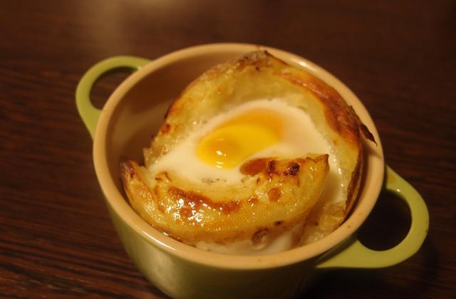 Nids de pommes de terre - Photo par petitemeuhencuisine