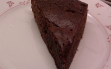 Gâteau choco carambar à la crème de caramel - Photo par Falbala