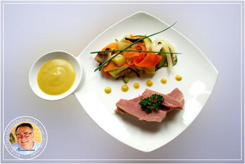 Petit salé aux légumes croquants - Photo par francis51