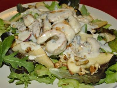 Salade de dinde et roquefort - Photo par M.Sonia