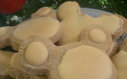 Biscuits aux amandes - Photo par kornichon