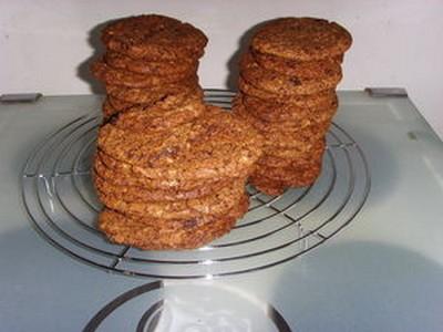 Cookies au chocolat noir  d'après Pierre Hermé - Photo par Chocolatissimo