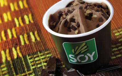 Crème glacée au chocolat - Photo par Soy