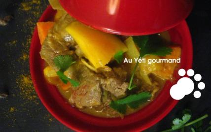 Curry d'agneau éxotique - Photo par Mama Yéti