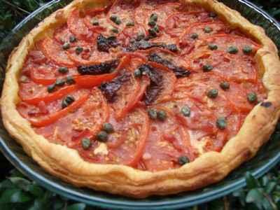 Tarte à la tomate - Photo par candice