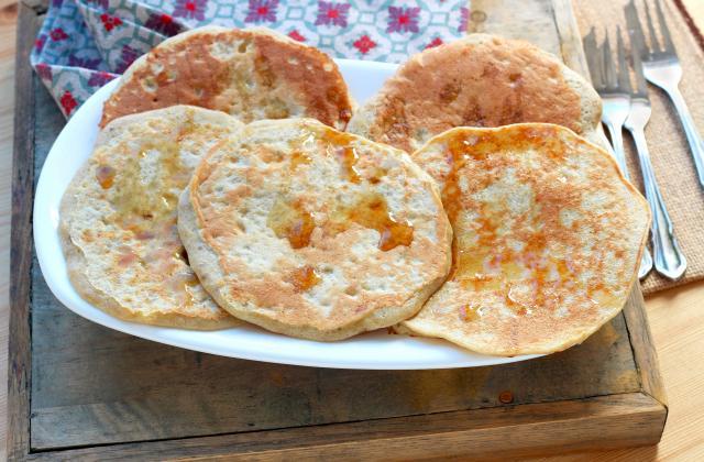 Pancakes sans gluten avec seulement 3 ingrédients - Photo par Silvia Santucci