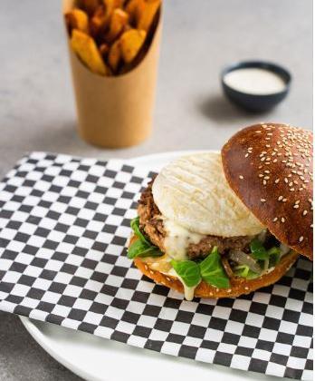 Marcellin' burger - Photo par IGP Saint Marcellin