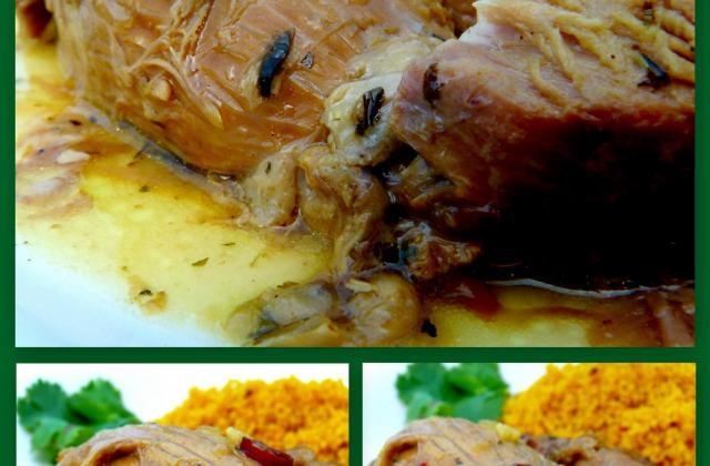 Epaule d'agneau confite aux épices... à la cocotte ! - Photo par CookingFeeLili