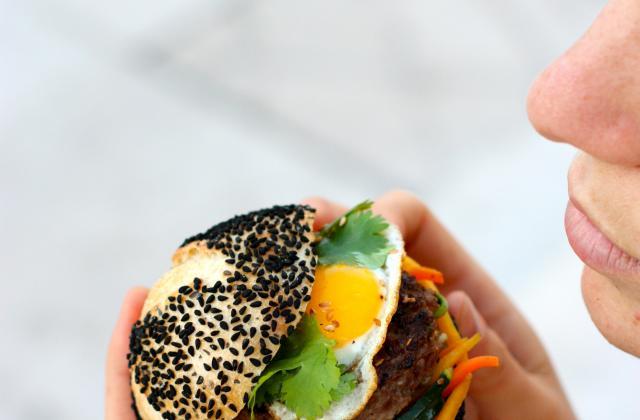 Street burger - Photo par posegourmande