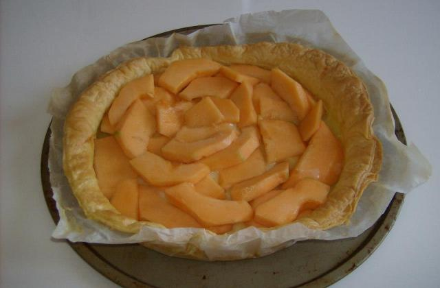 Tarte au melon - Photo par galvez