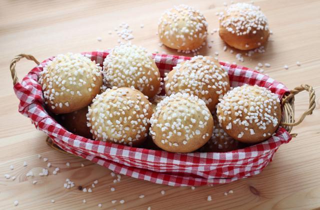 Petites brioches au sucre au Cuisine Companion - Photo par Silvia Santucci
