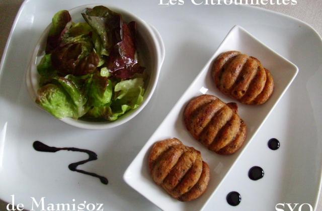 Les citrouillettes d'Halloween de Mamigoz (gâteau apéro) - Photo par mamigoz