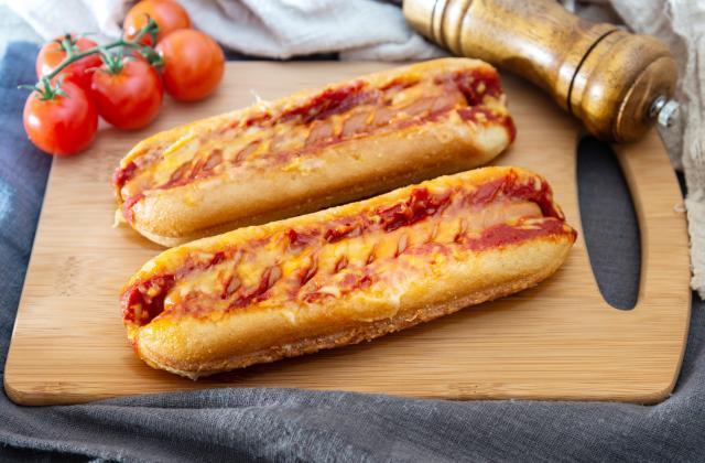 Hot dog gratinés - Photo par 750g