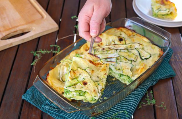 Lasagnes aux courgettes - Photo par Silvia Santucci
