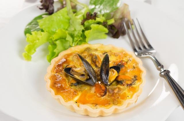 Tartelettes au potimarron et aux moules - Photo par 750g