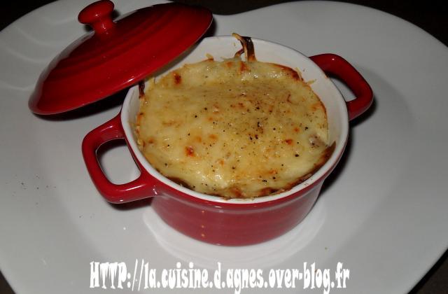 Mini cocotte de fonds d'artichauts gratinés - Photo par agnes0209