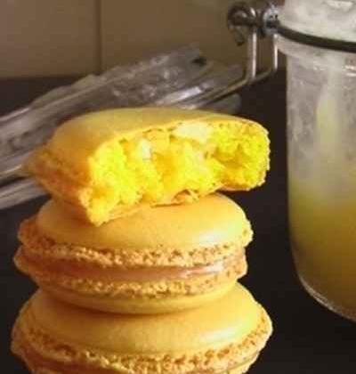 Macarons au citron - Photo par maybe