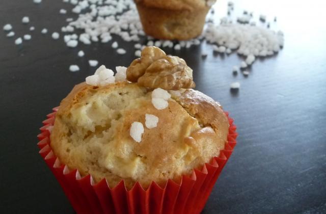 Muffins aux pommes ... et peu de vaisselle à faire ! - Photo par chouya