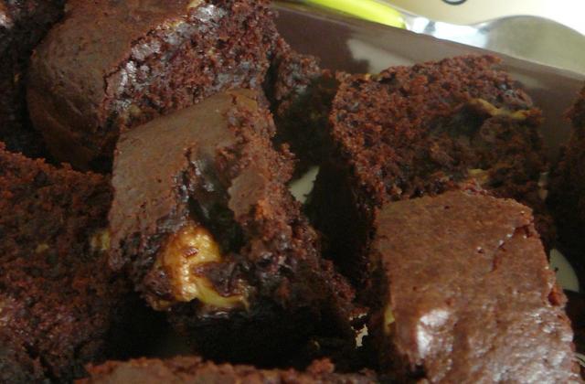 Brownie banane et noix - Photo par cicoucook