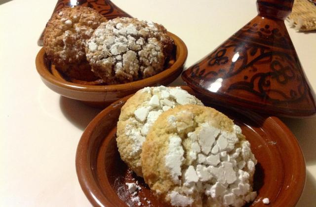 Macarons aux amandes et noix de coco - Photo par kkhadi