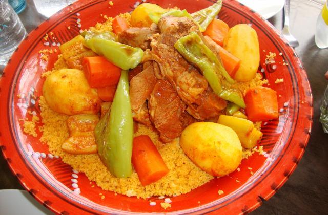 Couscous tunisien - Photo par la cuisine de doudou