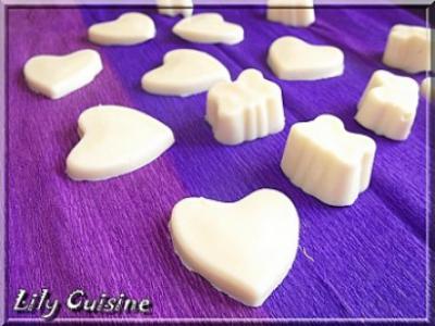 Chocolat blanc à la noix de coco - Photo par lilyra