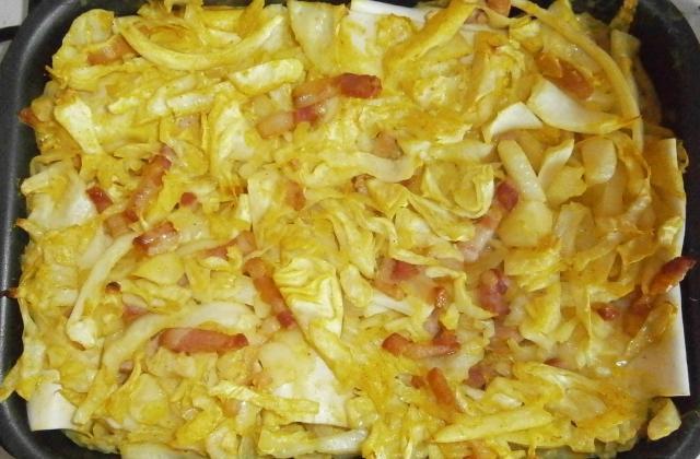 Cannelloni au chou blanc et lardons - Photo par delicesdunenovice