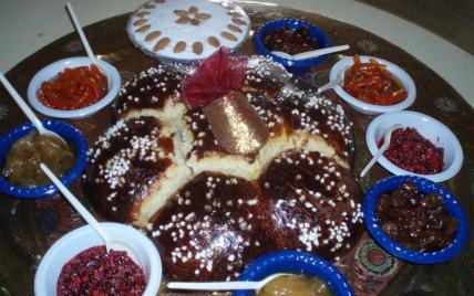 Mouna ou brioche de Pâques - Photo par chouchouandco