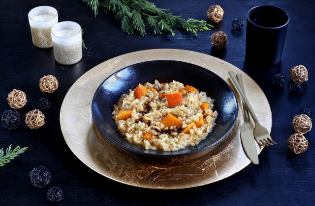 Risotto au potimarron et vinaigre balsamique - Photo par Silvia Santucci