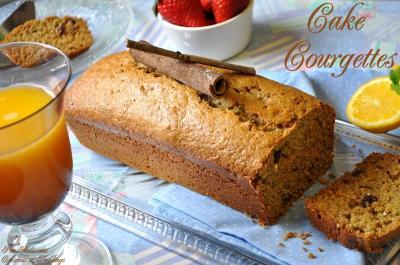 Cake sucré aux courgettes et raisins secs - Photo par melissami