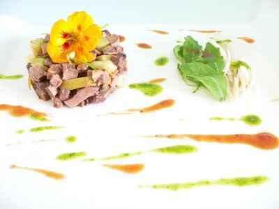 Salade de langue de boeuf - Photo par Chef Christophe