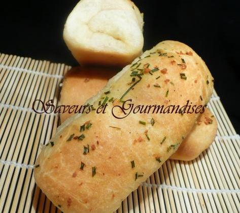 Petits pains à l'ail - Photo par Nadji.