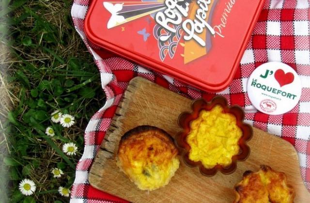 Pastéis de nata au roquefort - Photo par nadasto