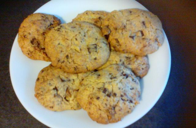 Cookies chocolat et noix du brésil - Photo par guilceW