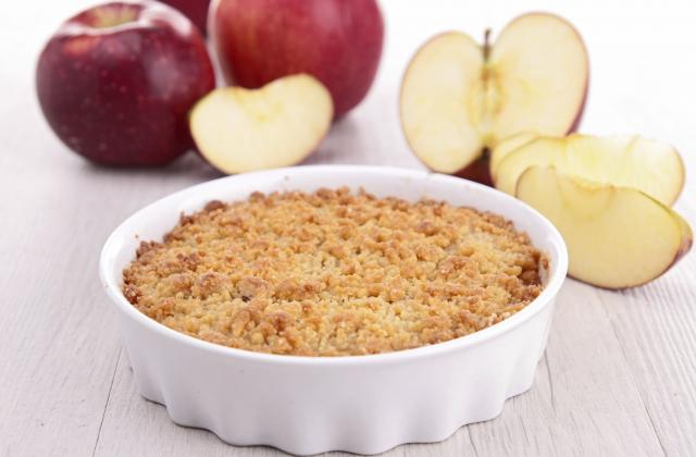 Crumble aux pommes - Photo par 750g